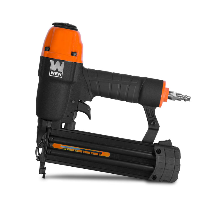 WEN R61721 18-Gauge 3/8-Inch to 2-Inch Pneumatic Brad Nailer with 2000 Nails (Manufacturer Refurbished)