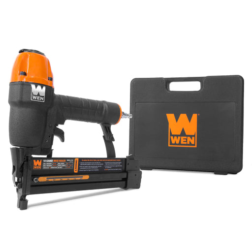 WEN 61722 18-Gauge 2-in-1 Pneumatic 2-Inch Brad Nailer and 1/4-Inch Crown Stapler