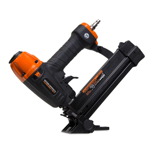 WEN 61741 4-in-1 18-Gauge Pneumatic Flooring Nailer and Stapler