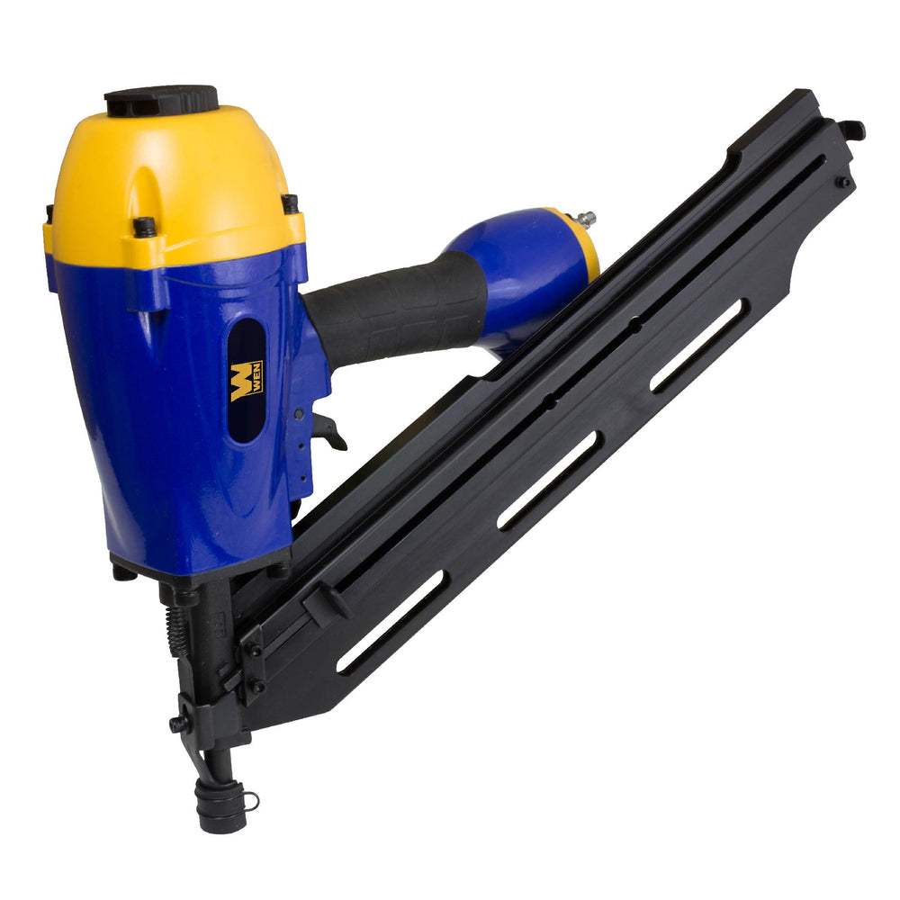 WEN R61798 Pneumatic Clipped Head Framing Nailer, 34 Degrees (Manufacturer Refurbished)