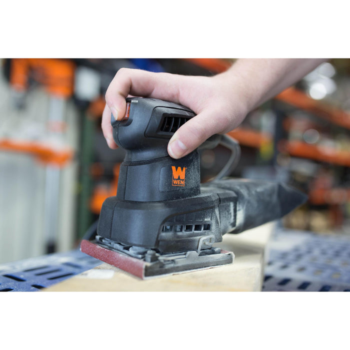 WEN 6304 1/4-Sheet Orbital Palm Sander