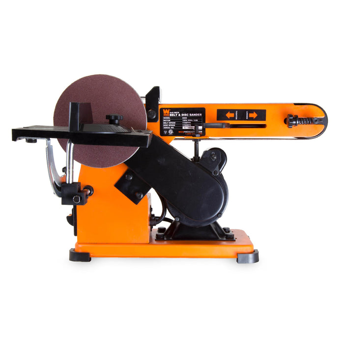 WEN R6500 4 x 36-Inch Belt and 6-Inch Disc Sander with Steel Base (Manufacturer Refurbished)