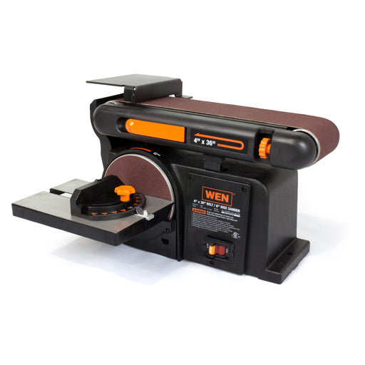 WEN R6502 4 x 36-Inch Belt with 6-Inch Disc Sander (Manufacturer Refurbished)