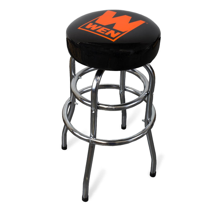 WEN R73014 300-Pound Capacity Chrome-Plated Bar Stool (Manufacturer Refurbished)