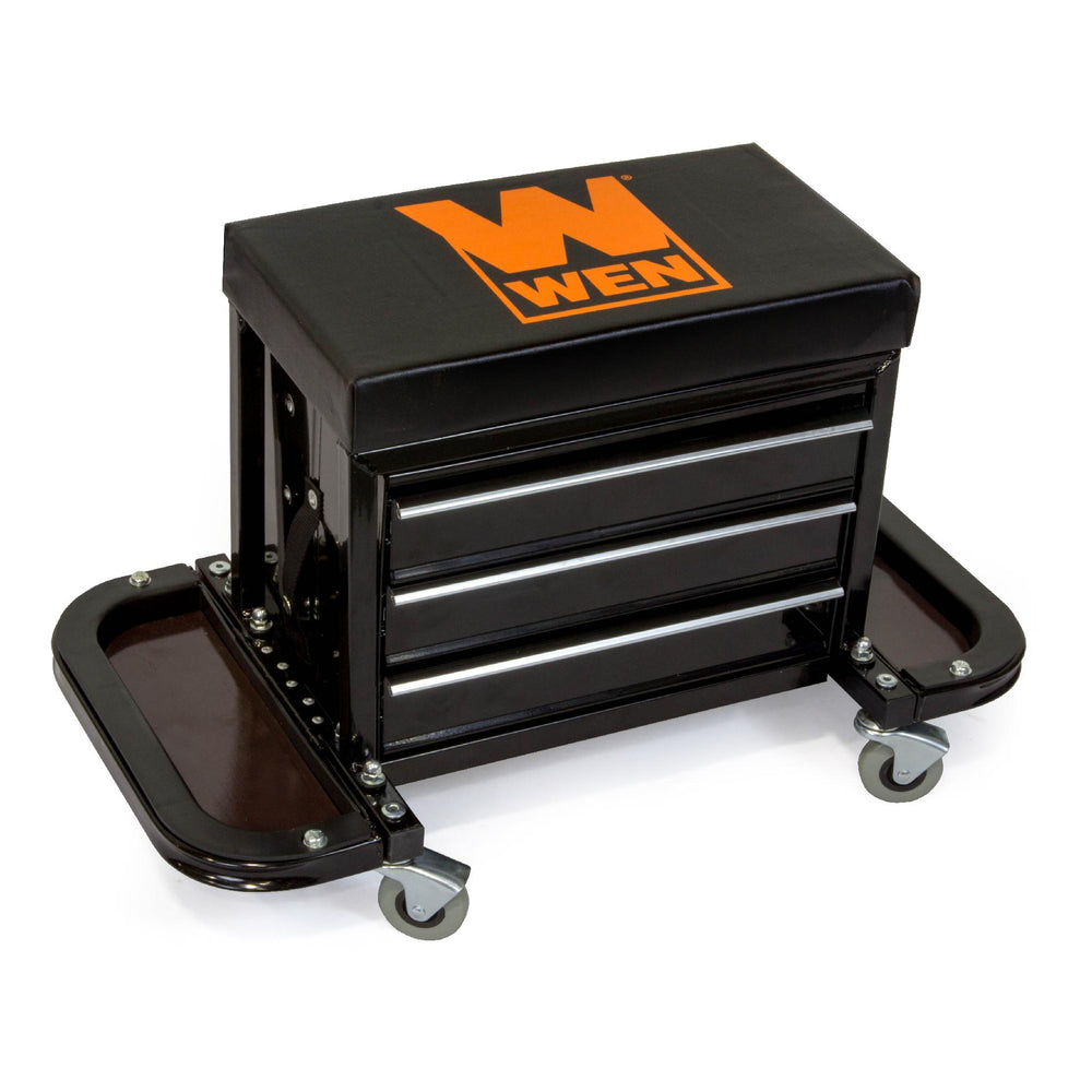 WEN R73015 Garage Glider Rolling Tool Chest Seat (Manufacturer Refurbished)