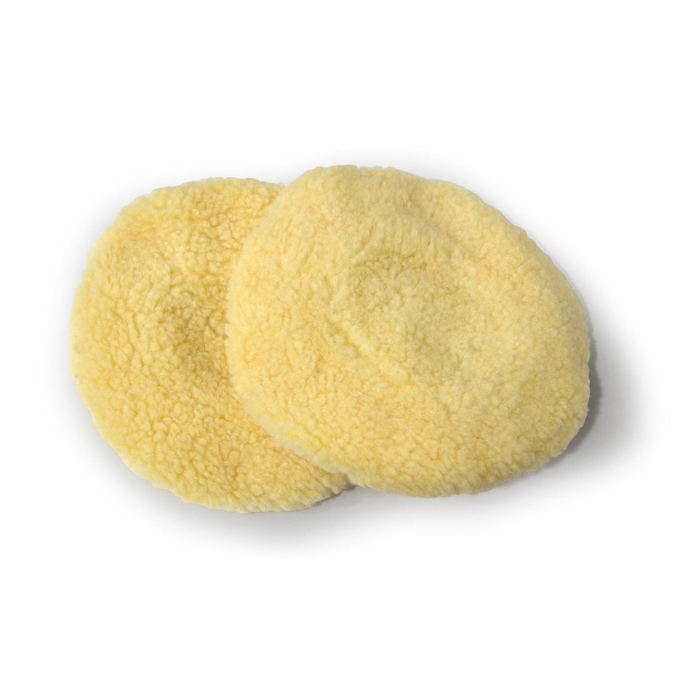 WEN 7A345 7-Inch Wool Polishing Bonnets (2-Pack)