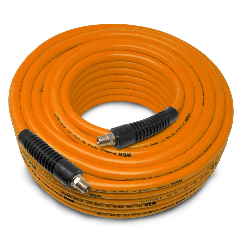 WEN AH3899 100-Foot by 3/8-Inch 300 PSI Hybrid Polymer Pneumatic Air Hose