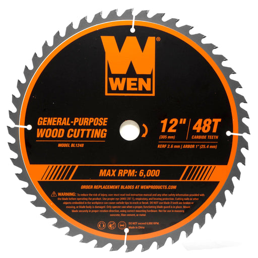 WEN BB9950 100.75-Inch Woodcutting Bandsaw Blade with 4 TPI and 1//2-Inch Width