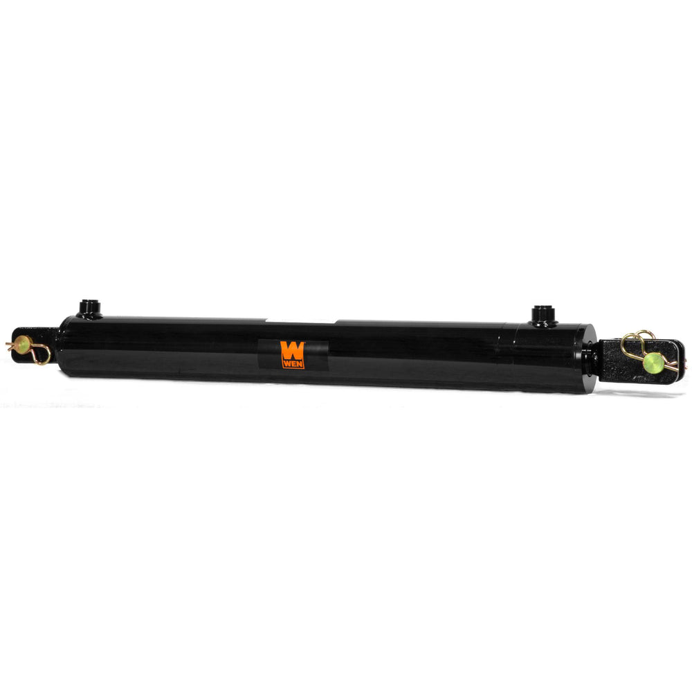 WEN CC3024 Clevis Hydraulic Cylinder with 3-inch Bore and 24-inch Stroke