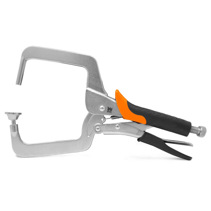 WEN CL436R 4-Inch Right Angle Clamp for Woodworking and Pocket Hole Joinery