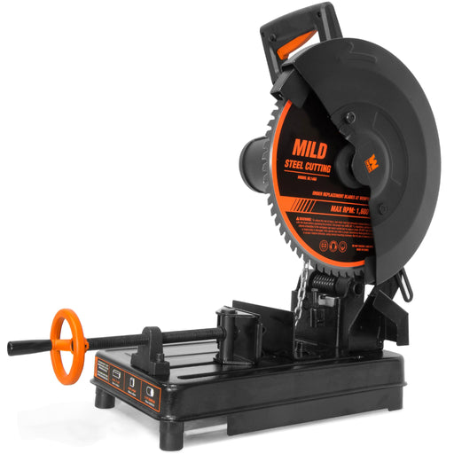 WEN CM1446 15-Amp 14-Inch Multi-Material Cut-Off Chop Saw with Carbide-Tipped Metal-Cutting Saw Blade