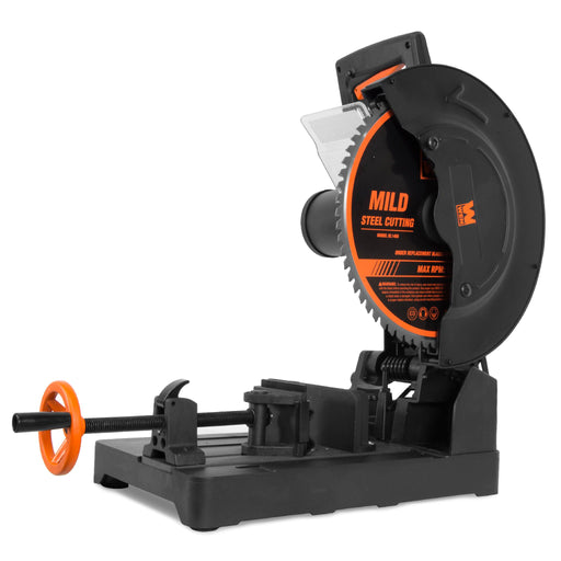 WEN CM1452 15-Amp 14-Inch Premium Multi-Material Cut-Off Chop Saw with Carbide-Tipped Metal-Cutting Saw Blade