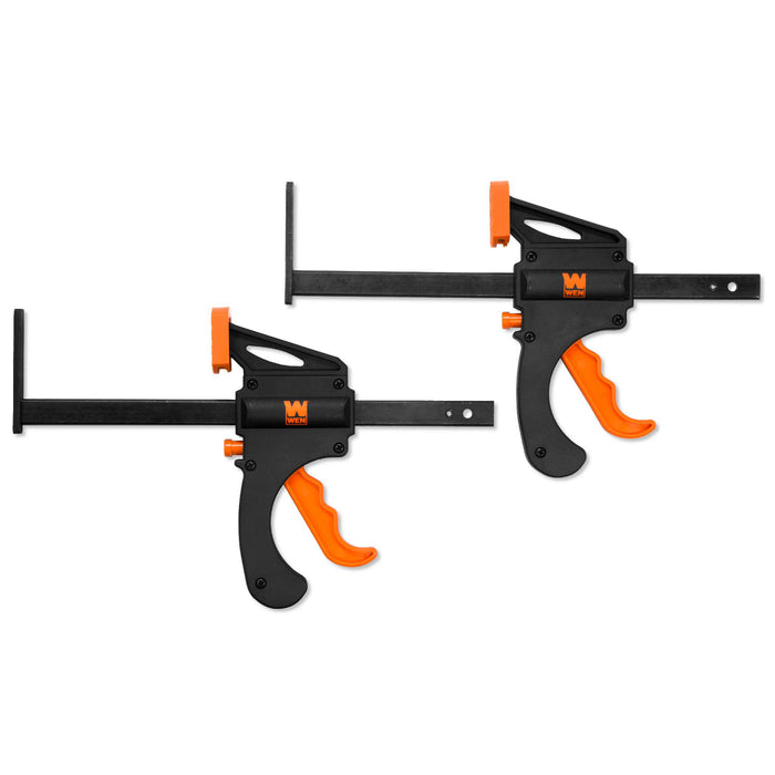 WEN CT992F 7.5-Inch Quick Release Track Saw Clamps, Two Pack