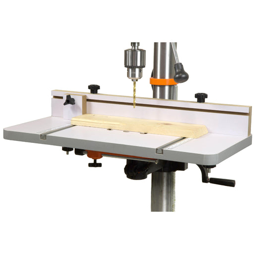 WEN DPA2412T 24-by-12-Inch Drill Press Table with an Adjustable Fence and Stop Block