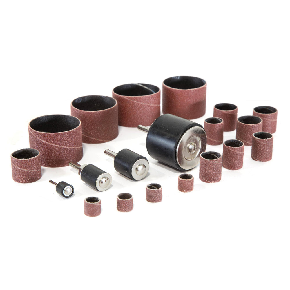 WEN DS164 20-Piece Sanding Drum Kit for Drill Presses and Power Drills