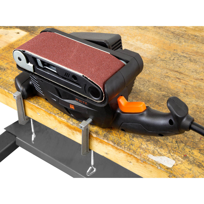 WEN HB3185 5-Amp 3-by-18-Inch Variable Speed Combination Handheld and Benchtop Belt Sander