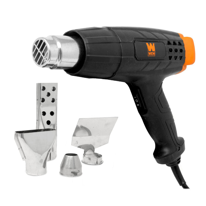 WEN HG1022 12.5-Amp Dual-Temperature Heat Gun with Attachments