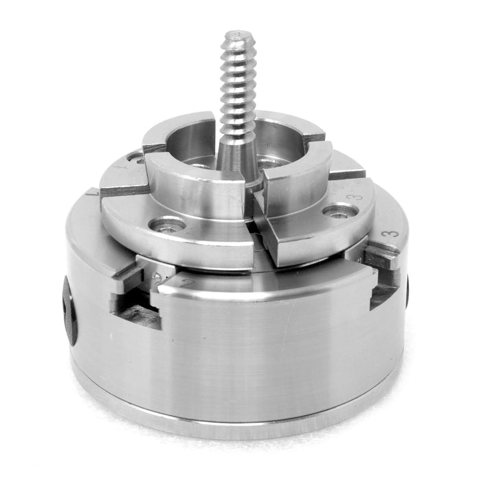 WEN LA4374 3.75-Inch 4-Jaw Self-Centering Chuck Set with 1-Inch x 8TPI Thread