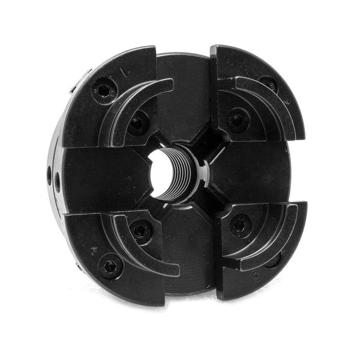 WEN LA4444 4-Inch 4-Jaw Self-Centering Lathe Chuck Set with 1-Inch x 8TPI Thread