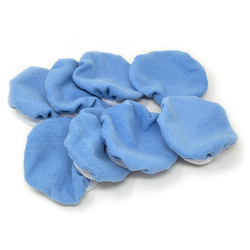 WEN PB068M 5-Inch to 6-Inch Premium Microfiber Car Polishing Bonnets, 8 Pack