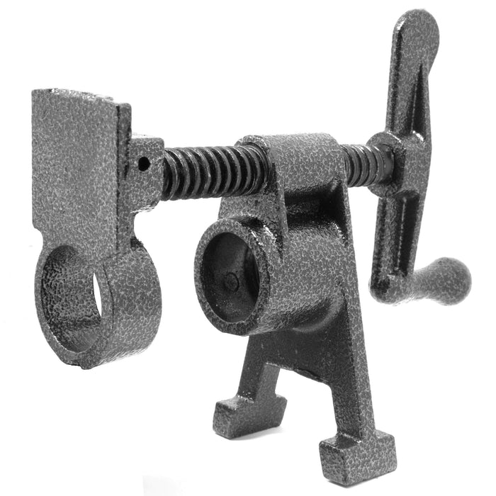 WEN PCV034 Heavy Duty 3/4-Inch Cast Iron Pipe Clamp Vise for Woodworking