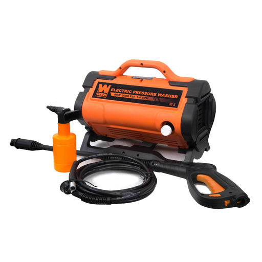 WEN PW19 2000 PSI 1.6 GPM 13-Amp Variable Flow Electric Pressure Washer