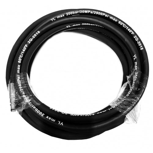 [PW21-050] 8M Steel Wired Rubber Hose for WEN PW21