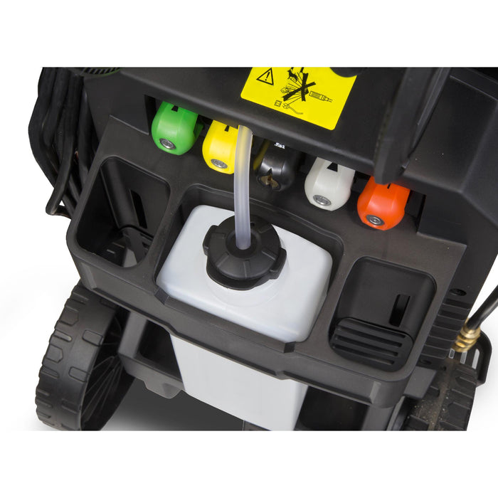 WEN PW21 2030 PSI 1.76 GPM 14.5-Amp Electric Pressure Washer with Variable Detergent and Hose Reel