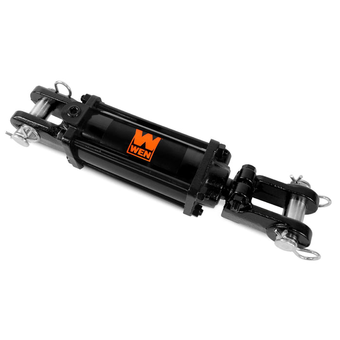 WEN TR2512 2500 PSI Tie Rod Hydraulic Cylinder with 2.5 in. Bore and 12 in. Stroke