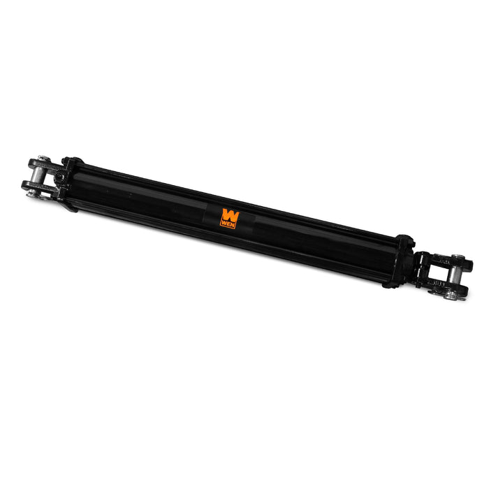 WEN TR3018 2500 PSI Tie Rod Hydraulic Cylinder with 3 in. Bore and 18 in. Stroke