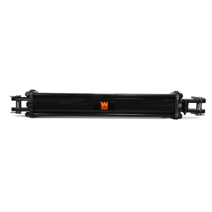 WEN TR4024 2500 PSI Tie Rod Hydraulic Cylinder with 4 in. Bore and 24 in. Stroke