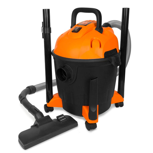 WEN VC4710 10-Amp 5-Gallon Portable HEPA Wet/Dry Shop Vacuum and Blower with 0.3-Micron Filter, Hose, and Accessories (Item VC4710)