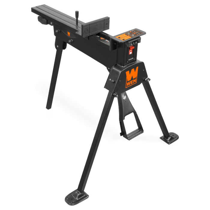WEN WA600 600-Pound Capacity Portable Clamping Saw Horse Work Bench with 8-by-3-Inch Jaws