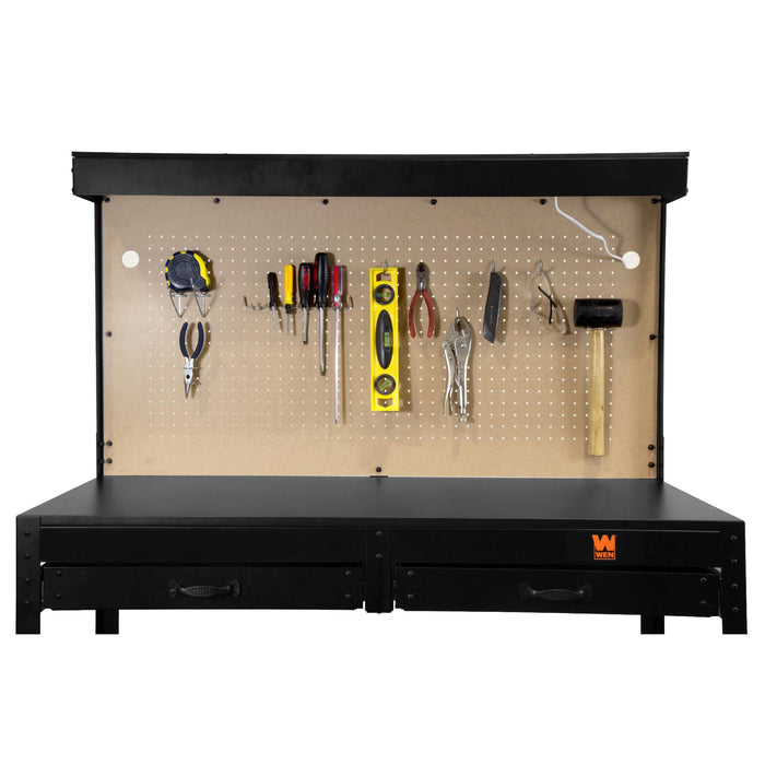 WB4723 48-Inch Workbench with Power Outlets and Light