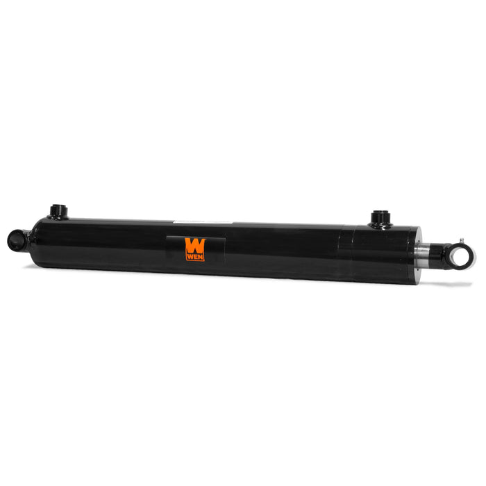 WEN WT3024 Cross Tube Hydraulic Cylinder with 3-inch Bore and 24-inch Stroke