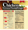 Chicken Gyoza Dumplings - Family Pack
