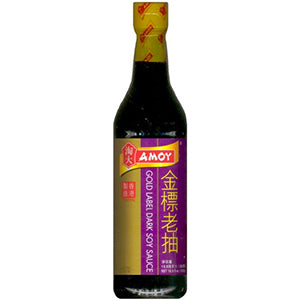 Gold Label Dark Soy Sauce - 16.9 Oz