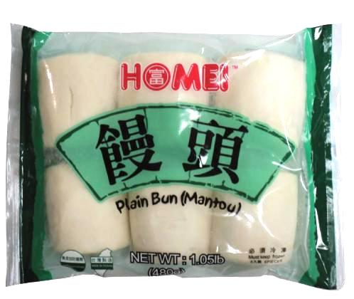 Plain Bun Mantou - 6 pcs