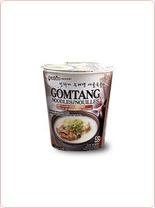 Cup Gomtang Noodles (Beef Flavor with Vegetable)