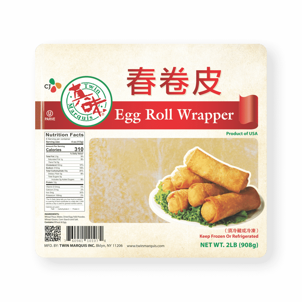Twin Marquis Egg Roll Wrapper