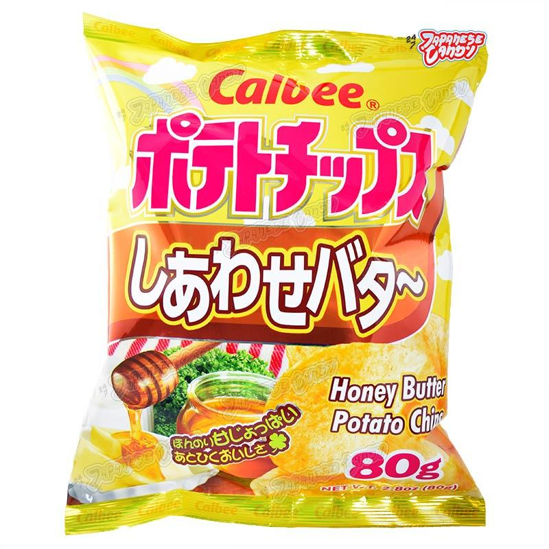 Calbee Potato Chips (Honey Butter)