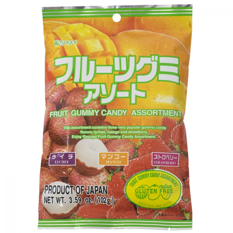 Kasugai Fruit Gummy Candy