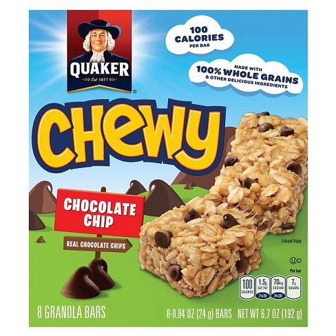 Quaker Big Chewy (Chocolate Chip)