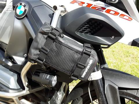 Bmw R1200Gs borsa barre paramotore Enduristan Fendr Bag