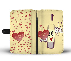 Love conquers all custom wallet phone case - Beelat Sydney