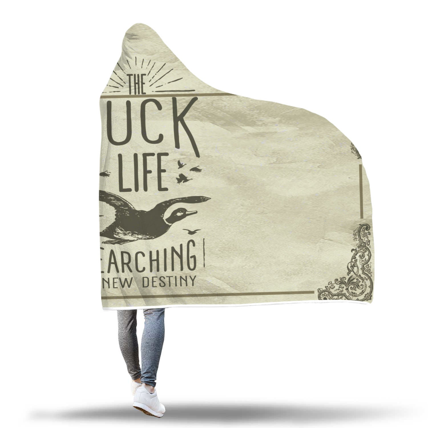 Duck Life Hooded Blanket - Beelat Sydney