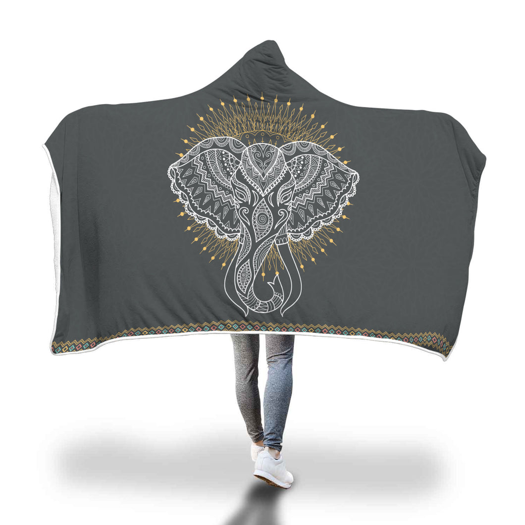 Amazing Elephant hooded blanket - Beelat Sydney