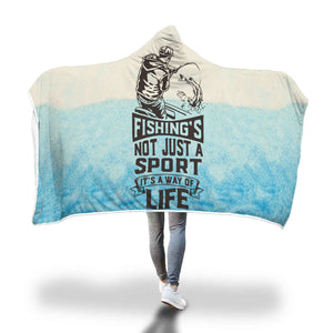 Fun Fishing hooded blanket - Beelat Sydney