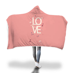 Couple love hooded blanket - Beelat Sydney