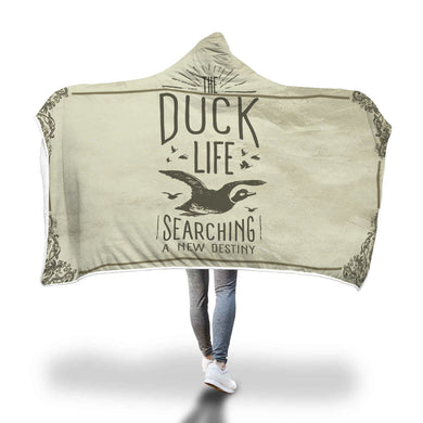 Duck hunting hooded blanket - Beelat Sydney